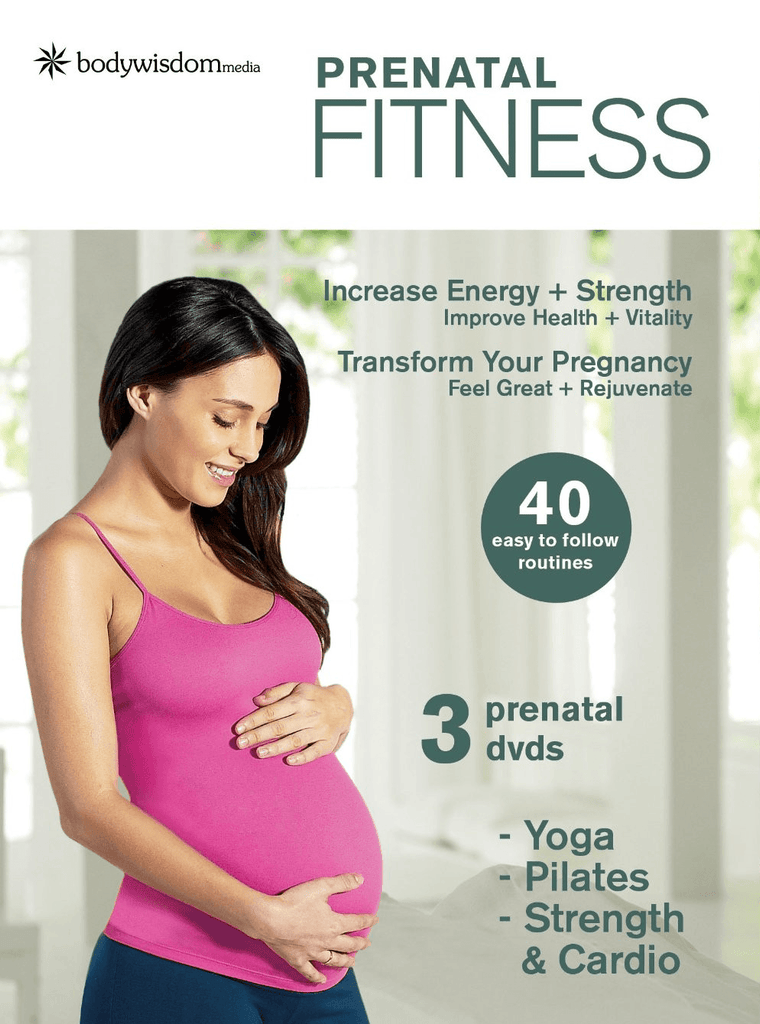 Prenatal Fit (3-DVD set) - Collage Video