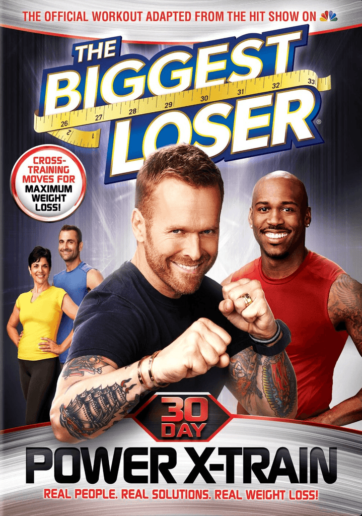 The Biggest Loser 30 Day Power X-Train - Collage Video