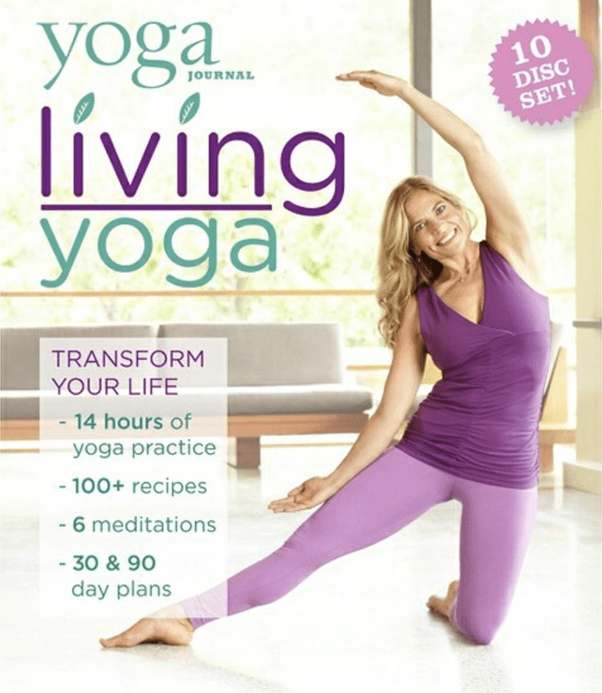 Yoga Journal's Living Yoga - 10 DVD Set - Collage Video