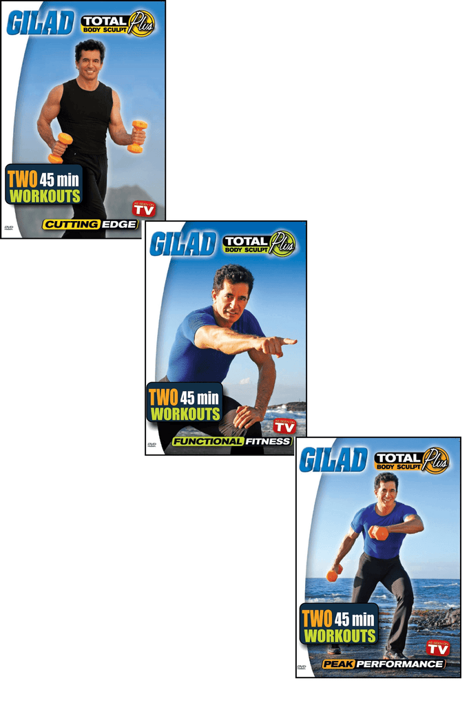 Gilad's Total Body Sculpt Plus TV Series Bundle - Collage Video