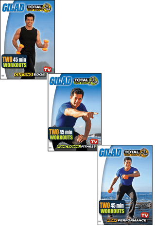 Gilad's Total Body Sculpt Plus TV Series Bundle