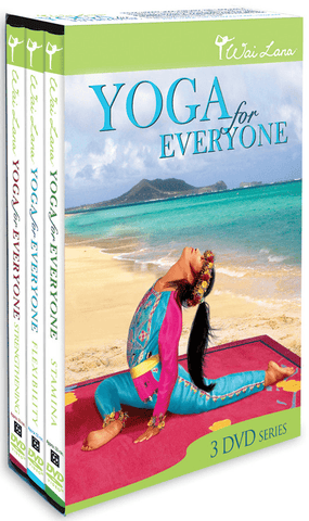 Yoga For Everyone: Tripack with Wai Lana (3 DVD set)