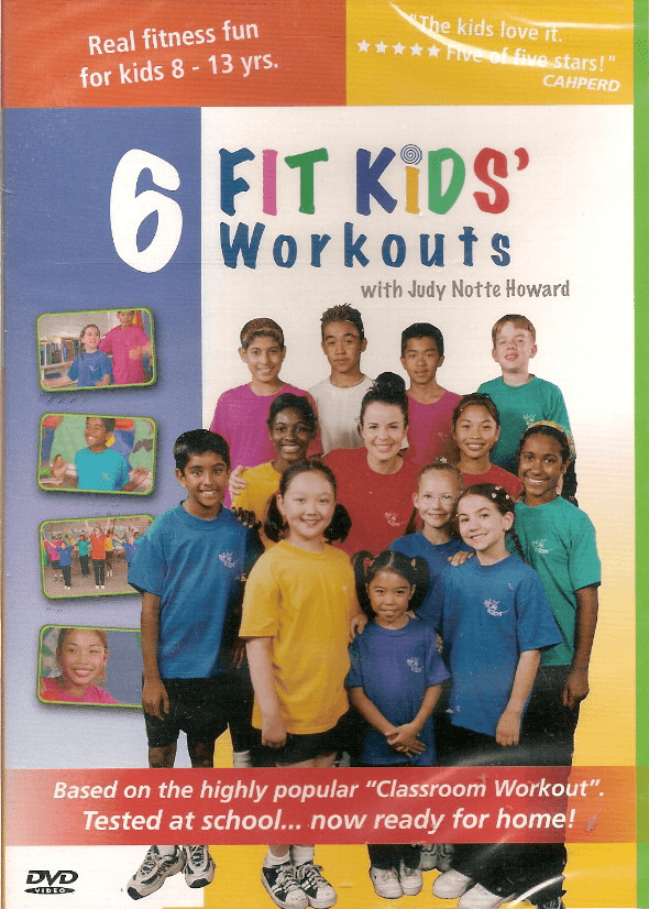 6 Kids Fitness Workouts Fit Kids - Collage Video
