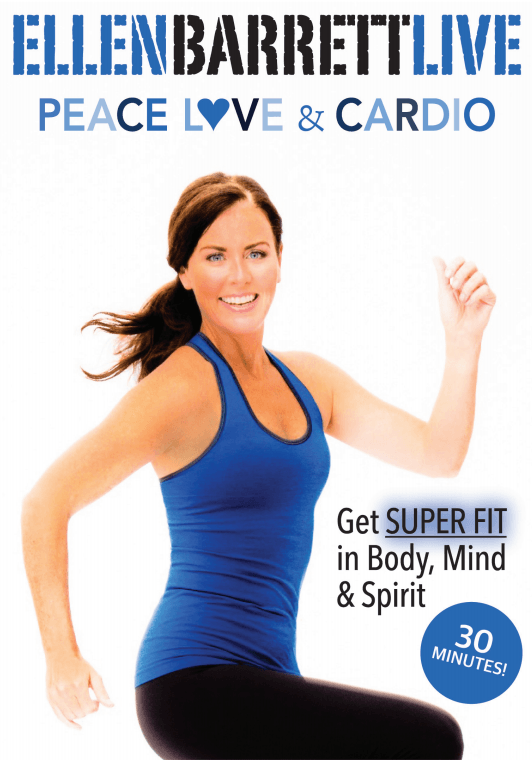 Ellen Barrett Live: Peace Love & Cardio - Collage Video