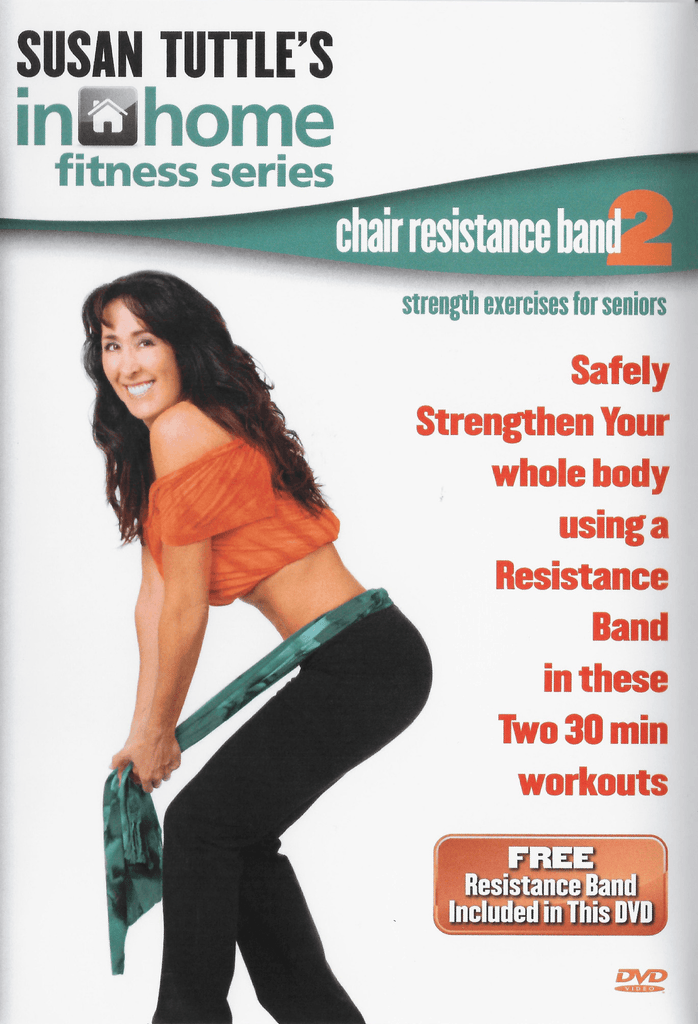 Susan Tuttle's Chair Resistance Band 2 for Seniors - Collage Video