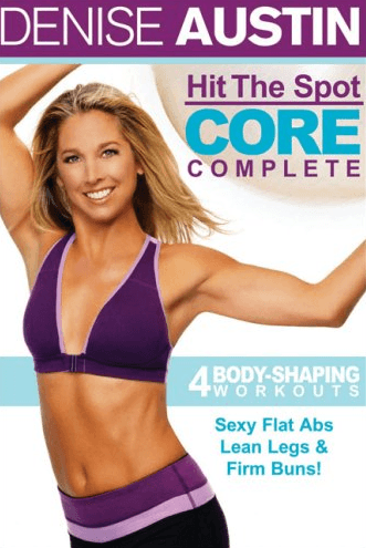 Denise Austin's Hit the Spot Core Complete - Collage Video