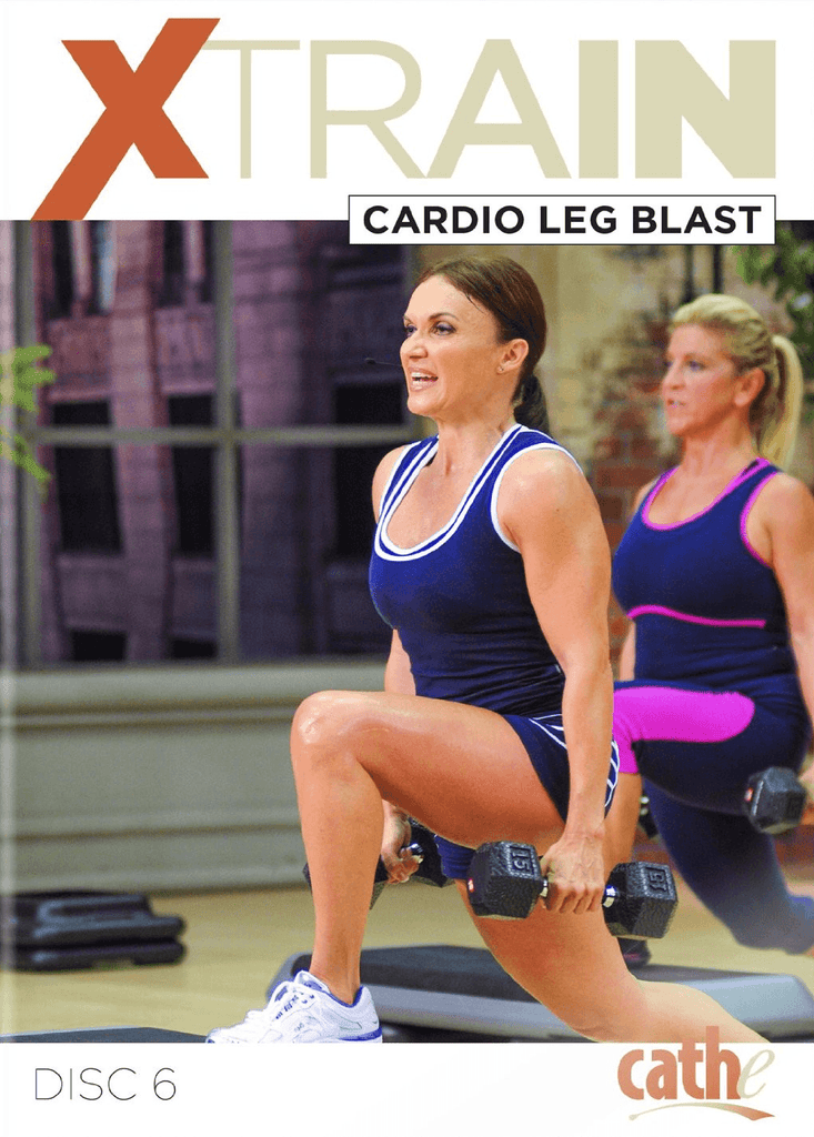 Cathe Friedrich's XTrain: Cardio Leg Blast - Collage Video