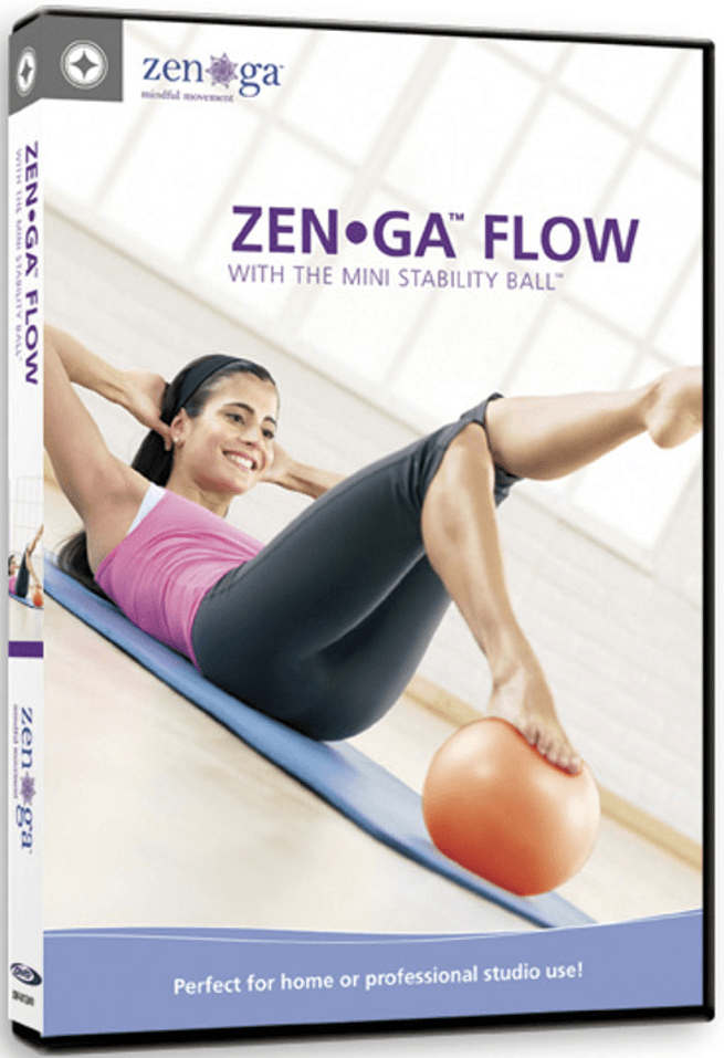 ZENGA FLOW with the Mini Stability Ball - Collage Video