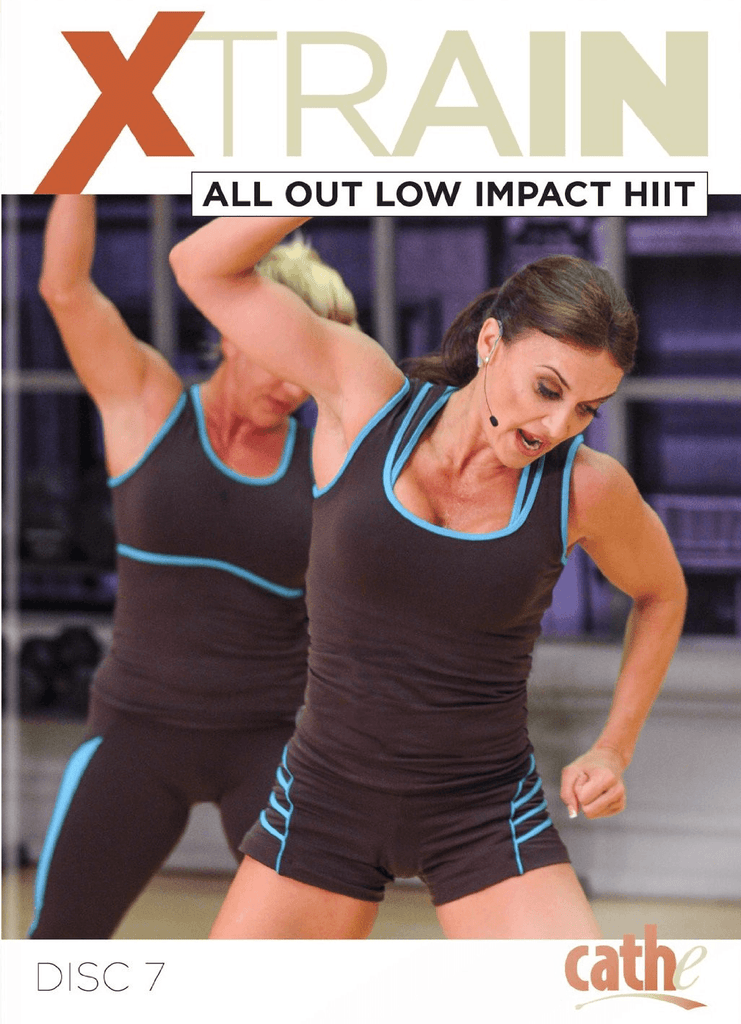 Cathe Friedrich's XTrain: All Out Low Impact HIIT - Collage Video