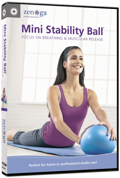 Stott Pilates: Mini Stability Ball - Focus on Breathing and Muscular Release - Collage Video