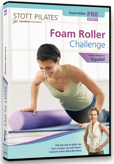 Stott Pilates: Foam Roller Challenge - Collage Video