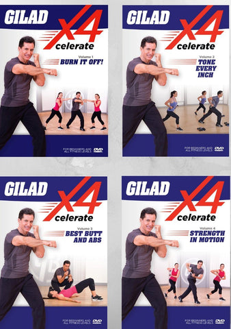 Gilad Xcelerate Bundle (Vol. 1 - 4)