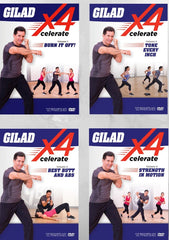 Gilad Xcelerate Bundle (Vol. 1 - 4) - Collage Video
