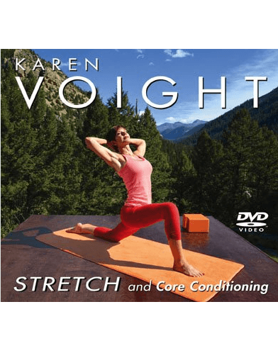 Karen Voight: Stretch and Core Conditioning - Collage Video