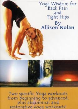 yoga wisdom for back pain and tight hips  collage video