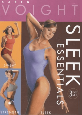 Karen Voight's Sleek Essentials (3 DVD set) - Collage Video