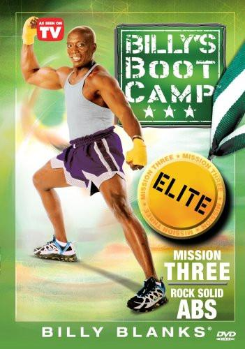 Billy' Bootcamp Elite: Mission Three- Rock Solid Abs - Collage Video