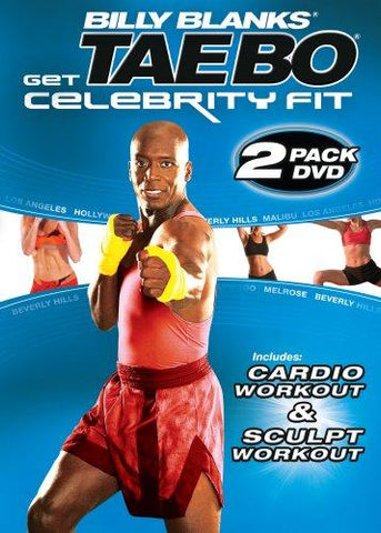 Billy Blanks Taebo: Get Celebrity Fit 2 Pack DVD