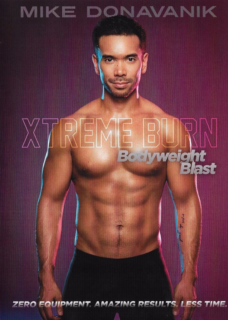 (Over 60% Off!) Mike Donavanik's Xtreme Burn: Bodyweight Blast - Collage Video