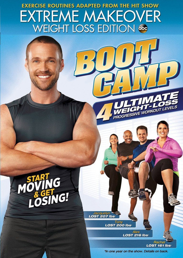 Extreme Makeover: Weight Loss Edition Boot Camp - Collage Video
