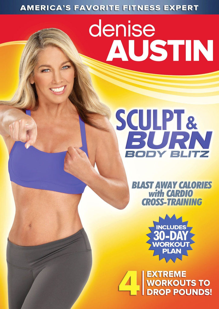 Denise Austin: Sculpt and Burn Body Blitz - Collage Video