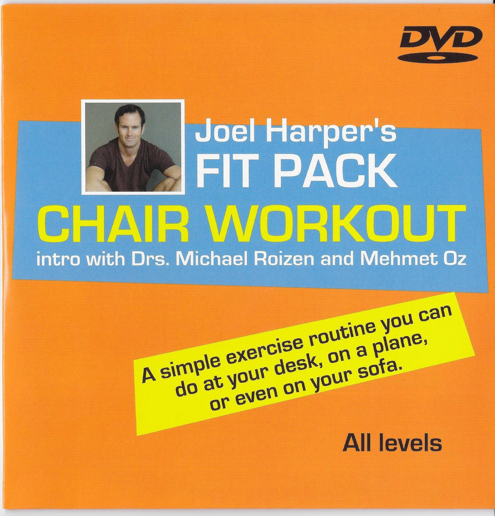 FIT PACK: Chair Workout with Joel Harper - Collage Video