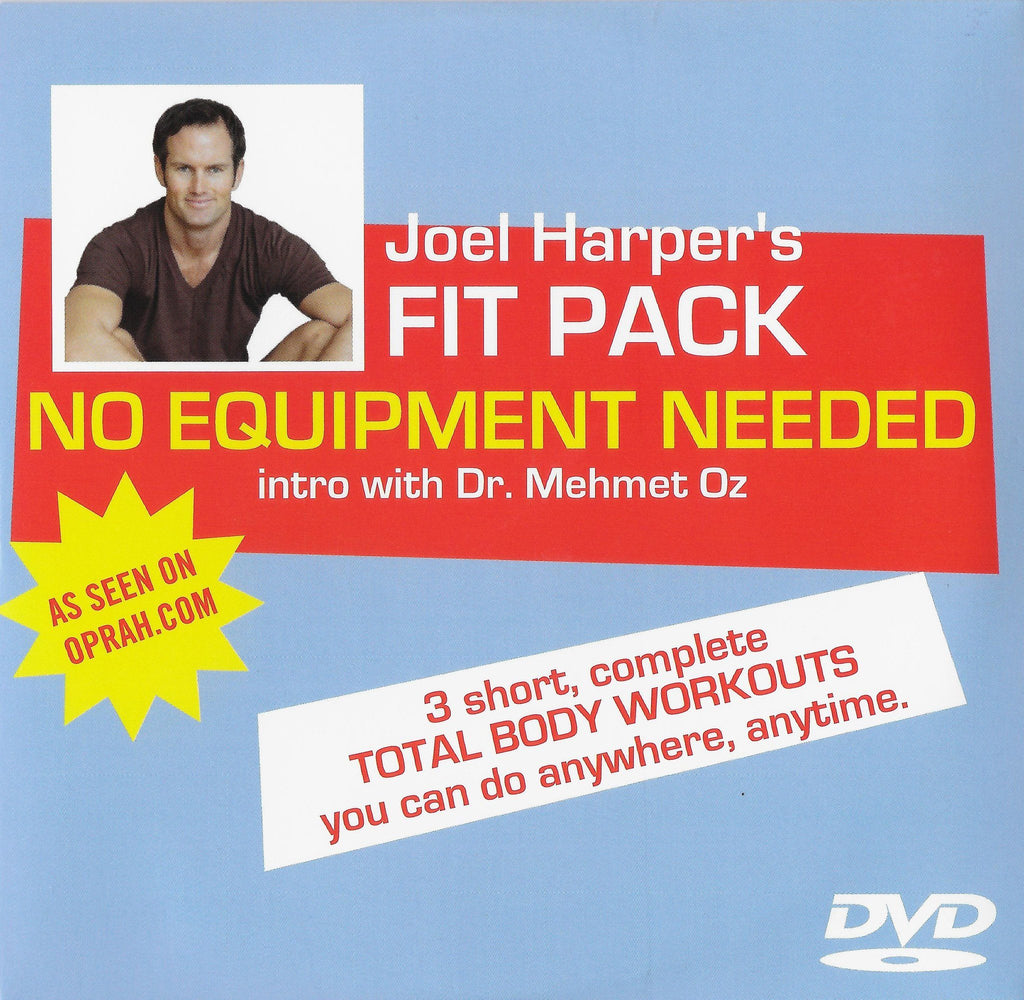 FIT PACK: No Equipment Needed with Joel Harper - Collage Video