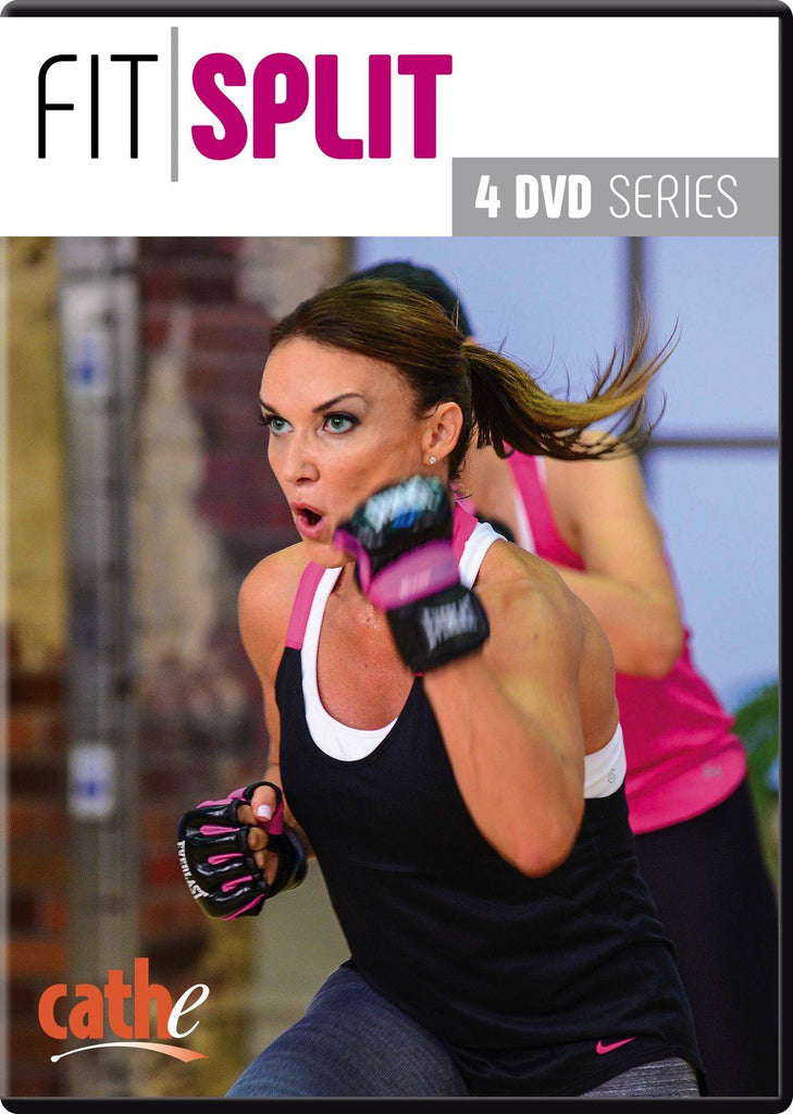 Cathe Friedrich's Fit Split Series (4 DVDs) - Collage Video