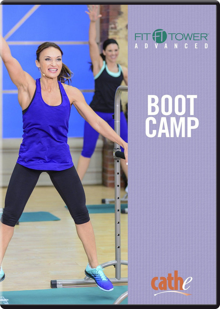 Cathe Friedrich's Fit Tower Advanced: Boot Camp - Collage Video