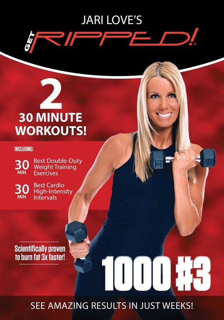 Jari Love Get Ripped 1000 #3 - Calorie Burn