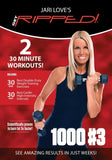 Jari Love Get Ripped 1000 #3 - Calorie Burn - Collage Video