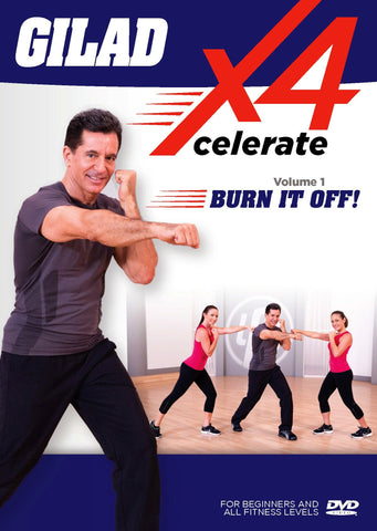 Gilad: Xcelerate 4: #1 Burn It Off