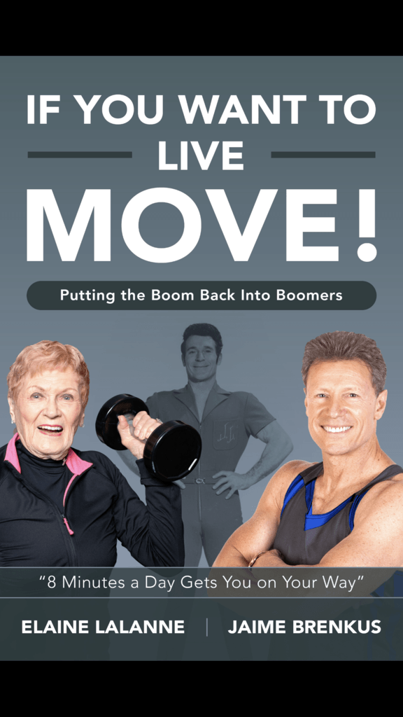 If You Want to Live - Move! Putting the Boom Back in Boomers (Book) - Collage Video