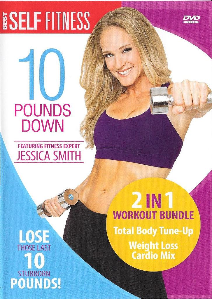 10 Pounds Down With Jessica Smith- 2 Workout Set - Collage Video