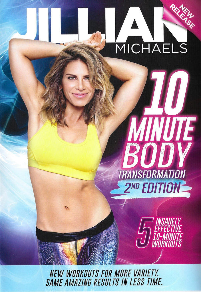 Jillian Michaels: 10-Minute Body Transformation 2nd Edition - Collage Video