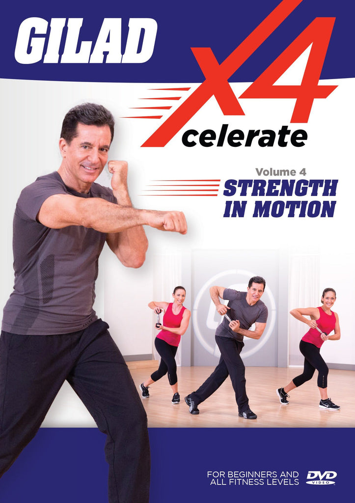 Gilad: Xcelerate 4: #4 Strength In Motion - Collage Video