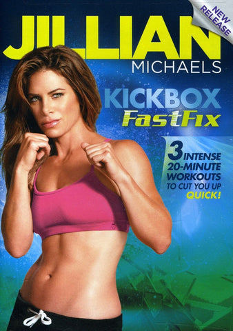 Jillian Michaels' Kickbox FastFix