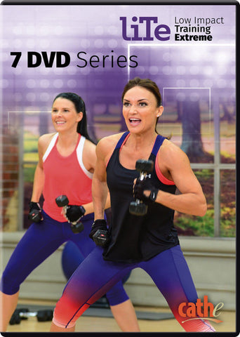Cathe Friedrich's LITE 7 DVD Bundle