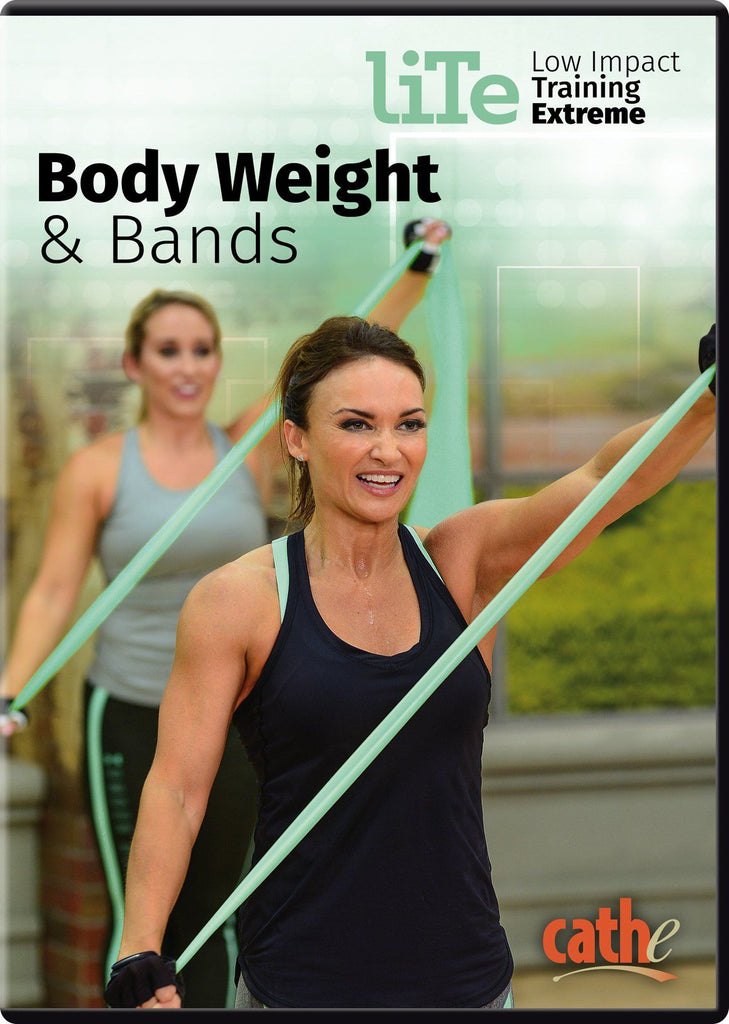 Cathe Friedrich's LITE Body Weight & Bands - Collage Video