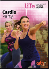 Cathe Friedrich's LITE Cardio Party - Collage Video