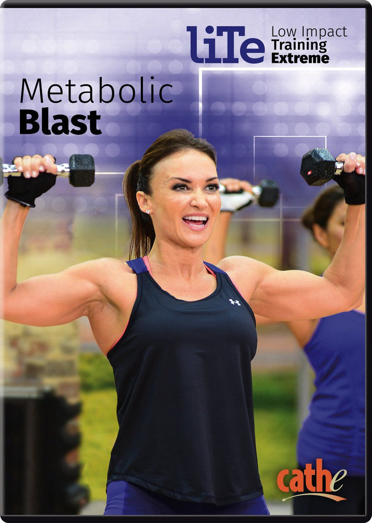 Cathe Friedrich's LITE Metabolic Blast - Collage Video