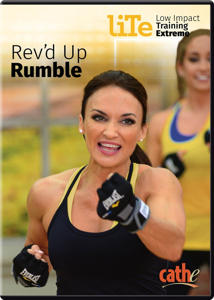 Cathe Friedrich's LITE Rev'd Up Rumble - Collage Video