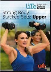 Cathe Friedrich's LITE Strong Body Stacked Sets: Upper - Collage Video