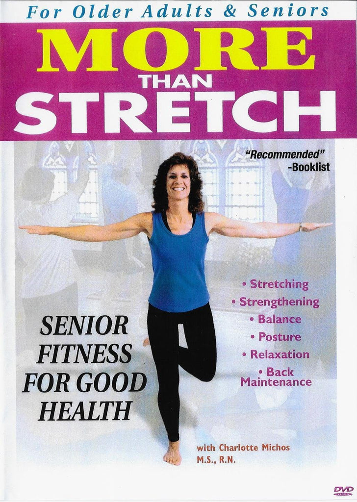 More Than Stretch - Senior Fitness for Good Health - Collage Video