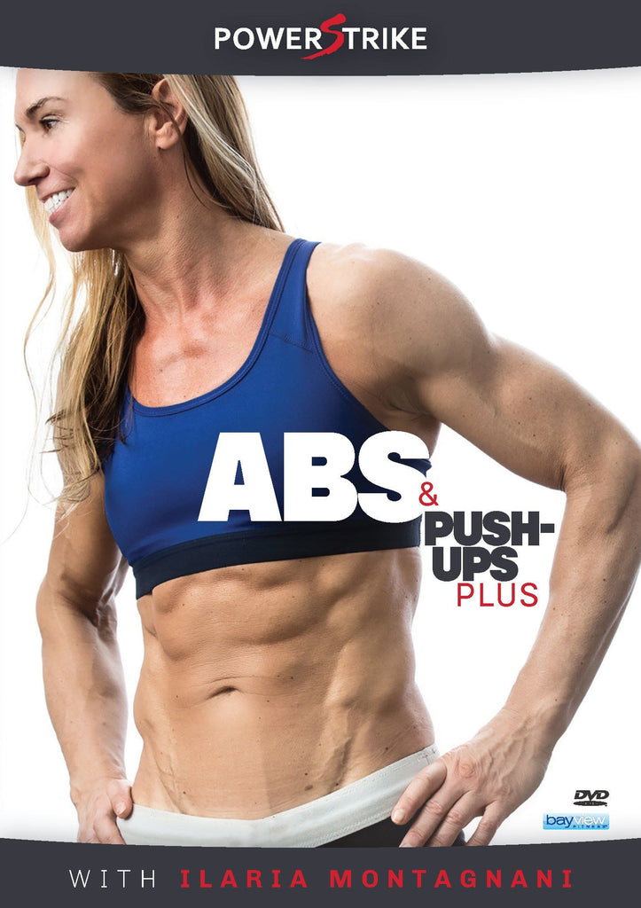 Powerstrike: Abs & Push-Ups Plus with Ilaria Montagnani - Collage Video