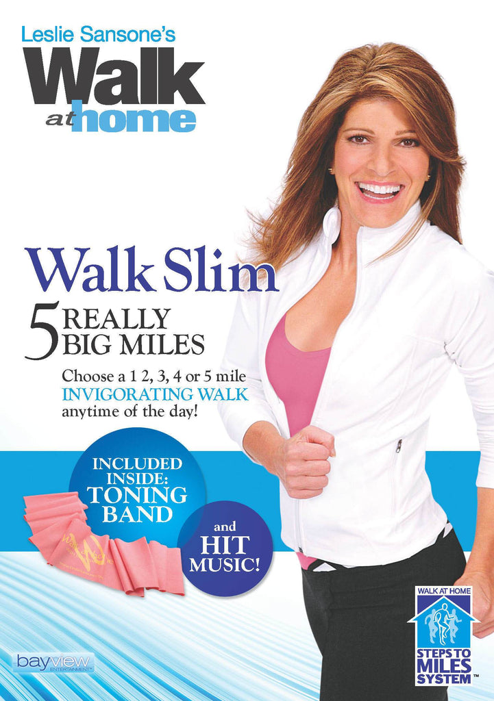 Leslie Sansone: Walk Slim 5 Really Big Miles - Collage Video