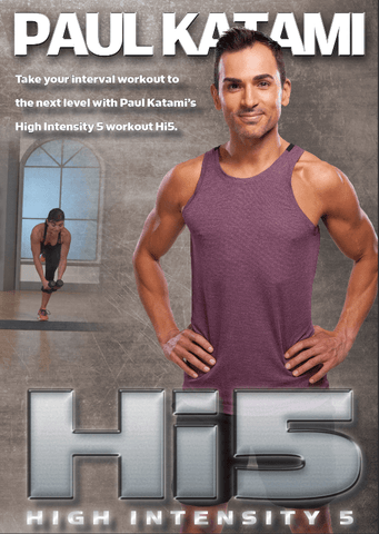 (25% off) Paul Katami's H.I.5 - High Intensity 5