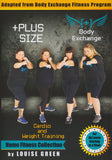 Plus Size Workout: Cardio and Weight Training with Louise Green - Collage Video