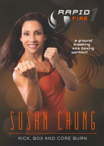 Susan Chung's Rapid Fire 1: Kick Box and Core Burn