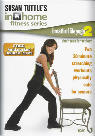 Susan Tuttle's Breath of Life Yoga 2 For Seniors